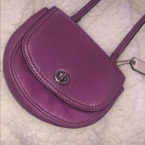 Coach Bags - Coach Mini Purple Crossbody Purse